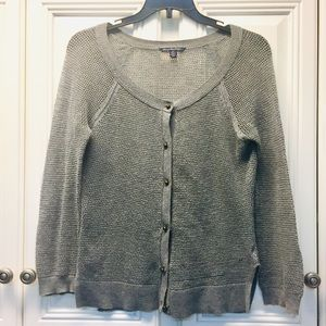 NWOT American Eagle Lightweight Gray Cardigan